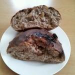 18209390 - 黒糖くるみパン