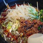 担々厨房 平家 - 冷製黒坦々麺