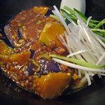 担々厨房 平家 - 茄子炸醤麺