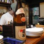 砂丘屋 - 徳島の銘酒、旭若松。