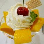フルーツパーラーレモン - マンゴークリーム