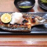 三楽 - 鯖塩焼き