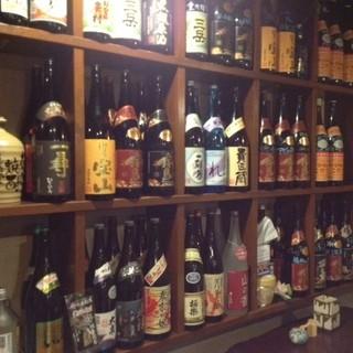 酒蔵から直接仕入れるこだわりの日本酒。