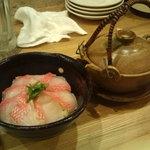 和風居酒屋 こむろ - 美味、金目鯛のお茶漬け