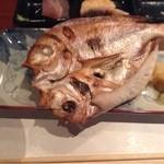 18212849 - 稚魚の鯛の一夜干し