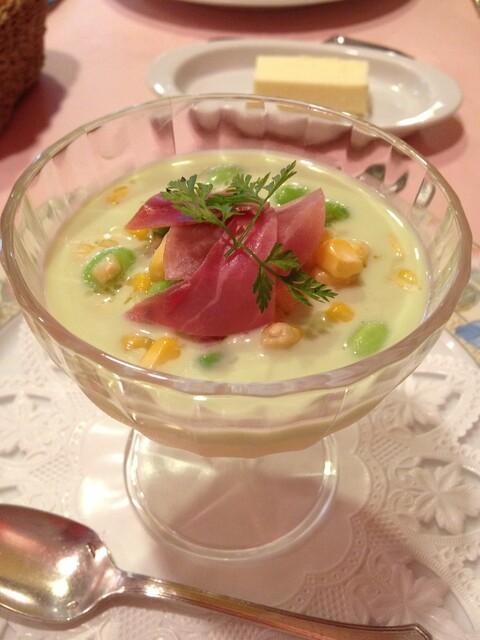 ラブレー - さわやかでクリーミー。バケツで食べたいくらい美味しい冷静スープ