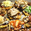 鉄板BASEはぶてる - 料理写真:『プチお好み焼き』 4種類、750円~