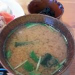 マゴコロ - 定食のお味噌汁