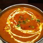 インドカレーハウス サニー・タージ - 840えんディナー カレーセット (チキン)