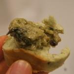 18214992 - 牡蠣ペーストほうれん草入り。