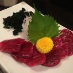 ドンちゃん - 料理写真:砂肝の刺身