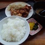 とんちゃんラーメン - 500円のから揚げ定食