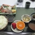 灯台茶屋 - 岩がき定食 @¥2100−+ご飯大盛り @¥100−