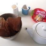 キラキラ - アイスコーヒー400円(氷がコーヒーで出来ています)