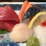 煮込みと惣菜 かん乃 - 刺し盛り