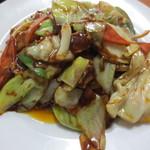福来順 - 回鍋肉のアップ
