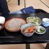 hayabusaonsenshokujidokoro - 料理写真:もりそばセット