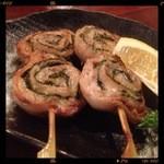 竹とんぼ - 肉しそ巻き 400円
