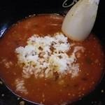 18223836 - 残ったスープに半ライス♪