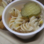 グレイトフルバーガー - ランチプレートのカップサラダ