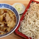 京家 - 京家の味 肉とじせいろ750円