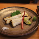 め乃惣 - 穴子の白焼