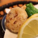 め乃惣 - 海老真薯 のアップ