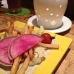 きのこの里 - 野菜のバーニャカウダ