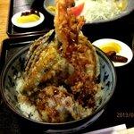 かま屋 - そびえ立つ天ぷら!(2013,04/02)