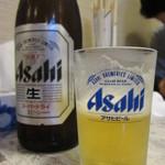 四川家庭料理 珍々 - ビール(2013/4/3)