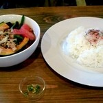 cafe 風音 - 野菜スープカレー(850円)
