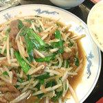 丸山飯店 - レバニラ炒め定食