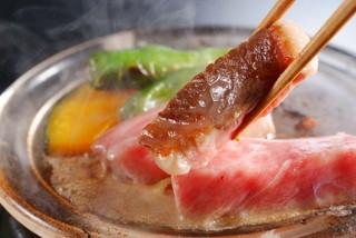 びわ湖花街道 - 近江牛水晶焼き(追加料理)