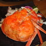 18231358 - ずわい蟹の姿ゆで。美味しかったです。