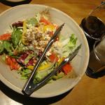 芋んちゅ - タコス風シーザーサラダ