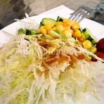 らうんじ Bali - 野菜サラダ