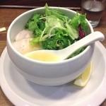 麺屋時茂 - 鶏白湯塩ラーメン