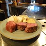 北山 渋谷 - 料理写真:丹波牛のヒレ