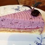 やまぼうし - ブルーベリーと木いちごのケーキ