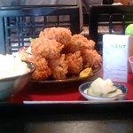 喰処 さか本 - カキフライ定食(大盛)