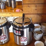 四川亭 - スープ  味噌汁