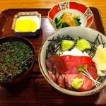 こみや寿司 - まぐろ山かけ丼