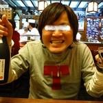 むつ五郎 - な、なんと焼酎までもくまモンが!!(驚)