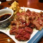 むつ五郎 - 馬の塩焼き1,100円