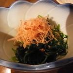 Shin‐和 dining - お通し(陸ひじき)