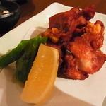 Shin‐和 dining - 鶏唐揚げは上品に小ぶりのもの4切れ