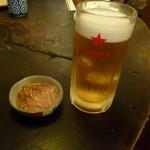 北海道料理 かすべ - 定番の自家製塩辛