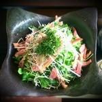 蕎楽 たか木 - 凉菜そば ¥1,050