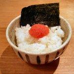 野方ホープ - 明太子ごはん(350円)