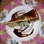 18250640 - 黒糖シフォンケーキ。ハーフサイズです。